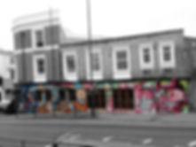 street art, graffiti, mural, krishna malla, tech moon, london, bournemouth, mexican, street food, ojo rojo, frog, owl,