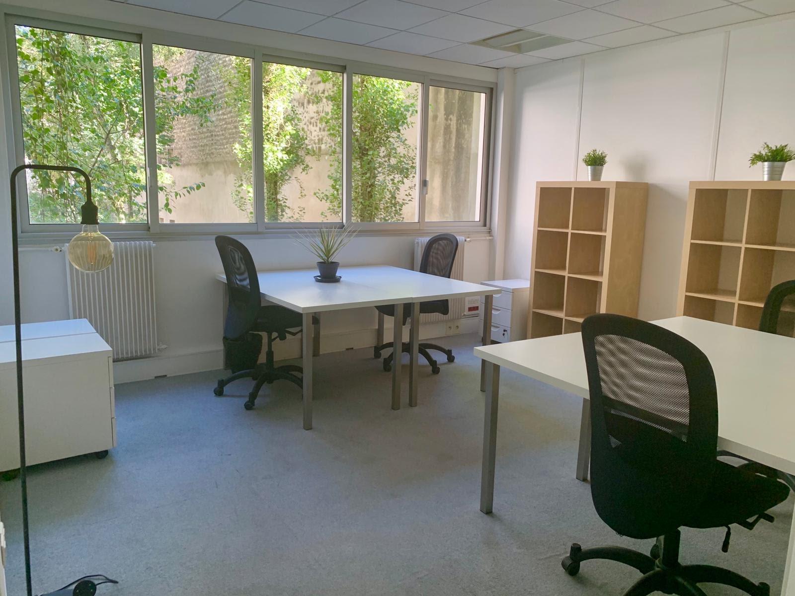 Bureau 2 jardin - 4postes