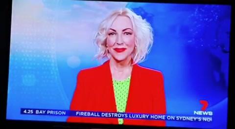 Susie Wilson on Channel 7 News live