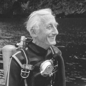 Fransız Ünlü Okyanus Bilimci ve Deniz Subayı Jacques Cousteau