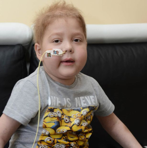 Jakub Steczkiewicz - who has already had two, five organ transplants at the age of 6