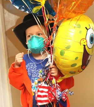 Toddler doing well after heart transplant