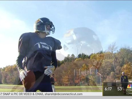 Simsbury High School Football Player Makes First Touchdown Since Heart Transplant – NBC Connec