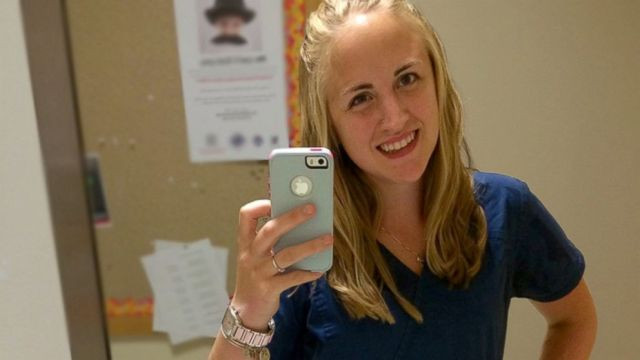 PHOTO: Laurie Lukianov is enjoying her first year as a nursing student in Massachusetts.