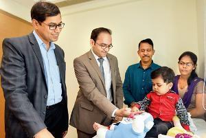 Rare transplant gives 3-yr-old a shot at life – Mumbai Mirror