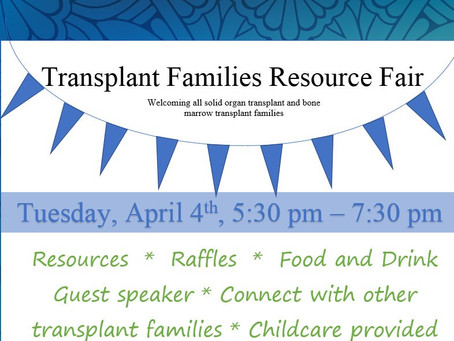 Transplant Families Resource Fair in Phoenix