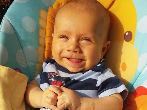 Baby Nathan. Photo credit: Saving Baby Nathan Facebook page