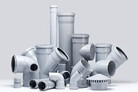 gray-polypropylene-tubes-white-backgroun