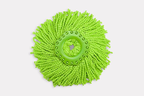 Насадка Greenway Turbo. Насадка из микроволокна для швабры (зеленая)