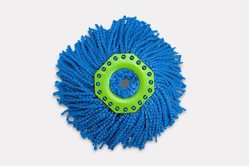 Насадка Greenway Turbo. Насадка из микроволокна для швабры (синяя)