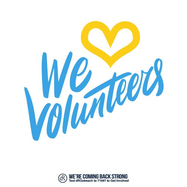We Love Volunteers
