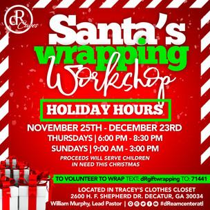 Santa'a Wrapping Workshop