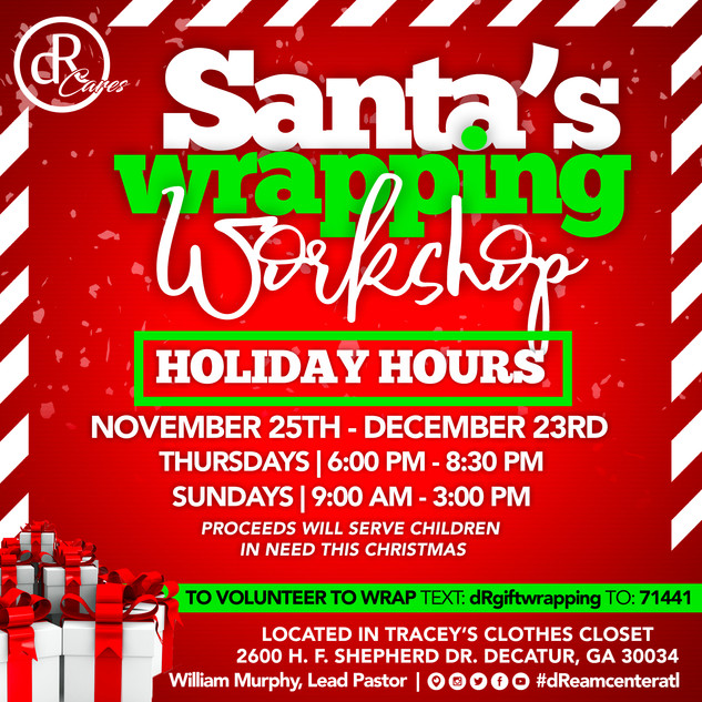 Santa'a Wrapping Workshop
