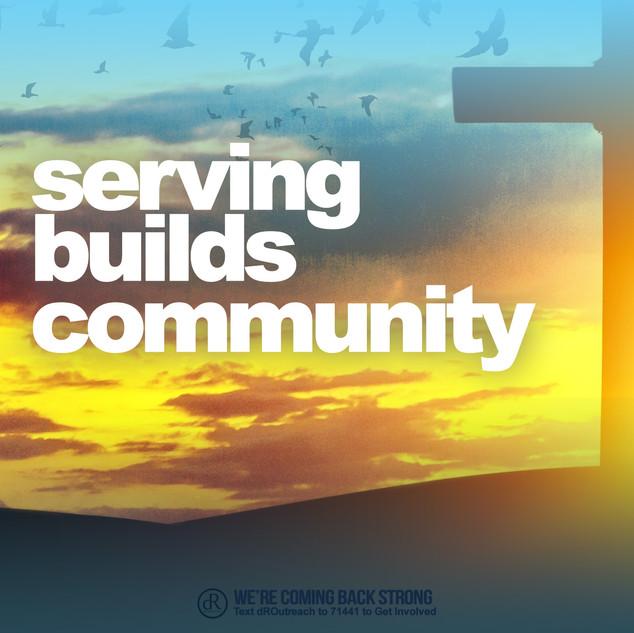 Serving Builds Community