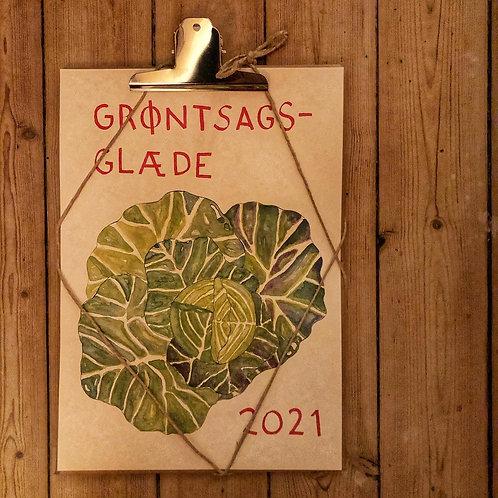 Grøntsagsglæde kalender 2021
