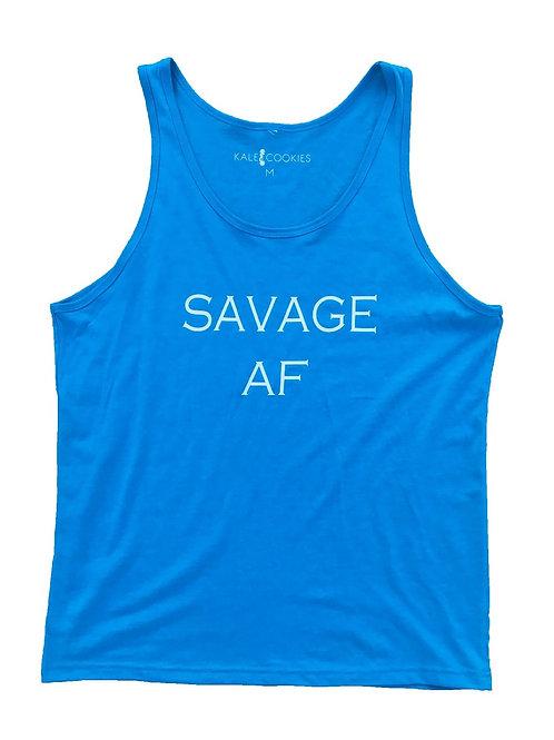 "Men's ""Savage AF"" Tank"