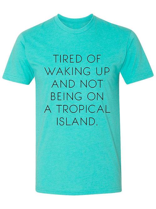 """Tropical Island"" Tee"