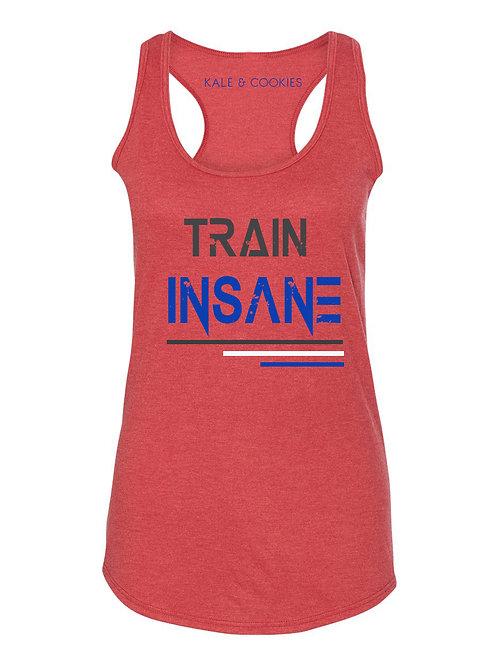 """Train Insane"" Racerback"