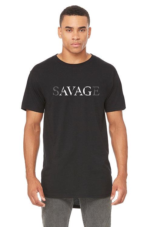 """""""Savage"""" Men's Long Body Tee + Tank"""