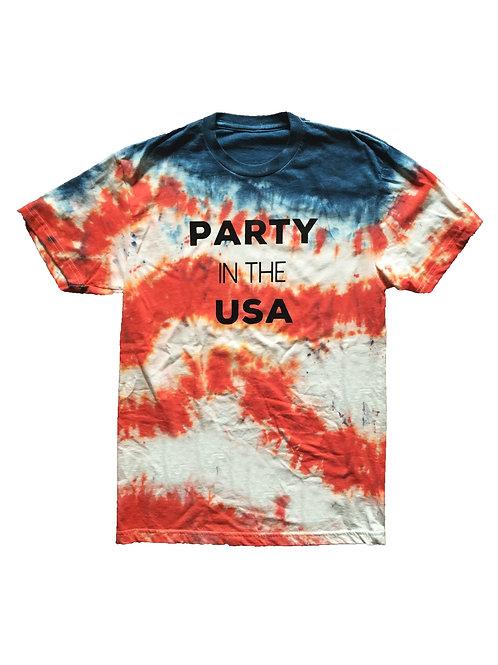 Patriotic Tie-Dye Tees (3 Styles)