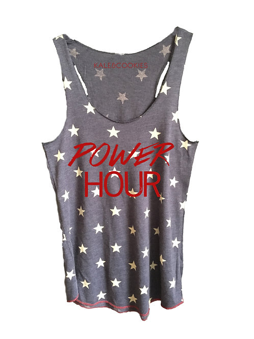 Star Patterned Racerback (2 Styles)