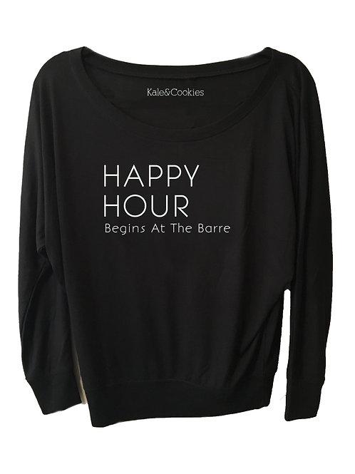 Happy Hour Begins At The Barre Off Shoulder