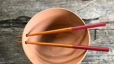 Noodle/Rice bowl with chopstick