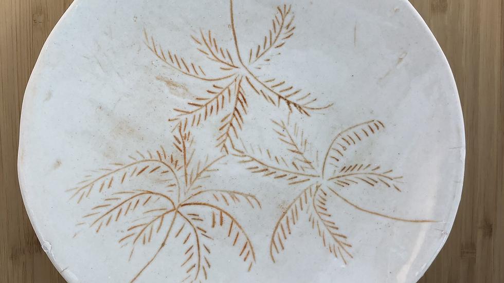 Palms small plate