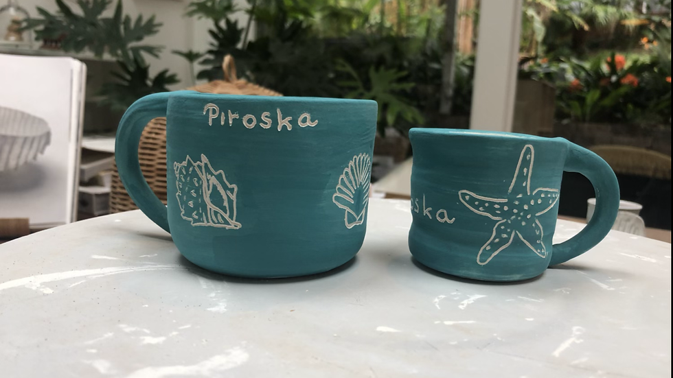 Name personalised cup