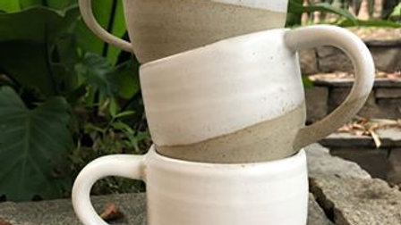 Cups white/natural