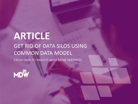 GET RID OF DATA SILOS USING COMMON DATA MODEL