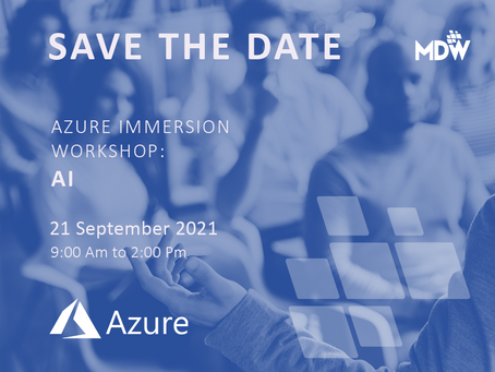 21.09 - Azure Immersion Workshop: AI