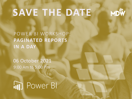 06.10 - Power BI: Paginated Reports in a Day