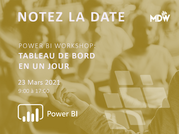 23.03 - Power BI: Tableau de bord en un jour