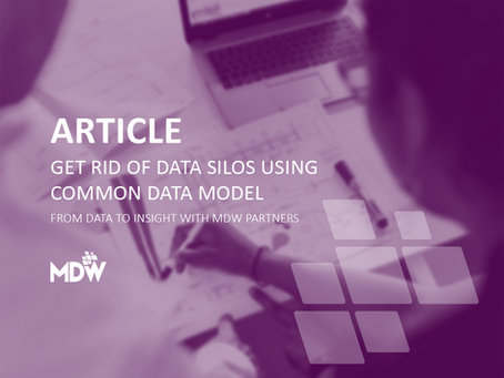 Get rid of Data Silos using a Common Data Model