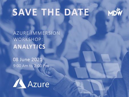 08.06 - Azure Immersion Workshop: Analytics