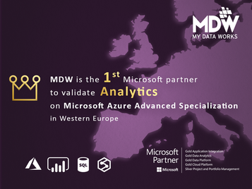 1st in the Western Europe region with new Analytics certification from Microsoft