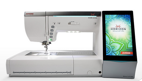 Janome Memory Craft 15000 naai- en borduurmachine