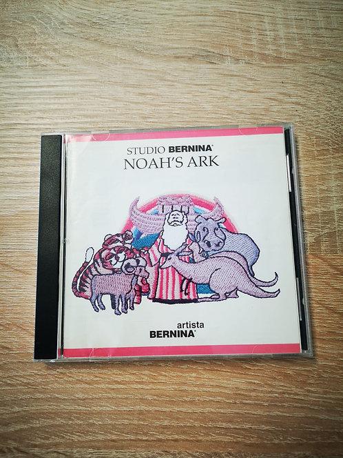 Studio Bernina Noah's Ark borduurkaart