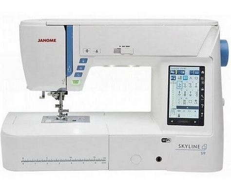 Janome Skyline S9 naai- en borduurmachine