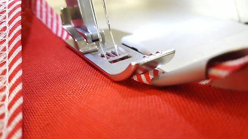 Bias binding foot JUKI cover