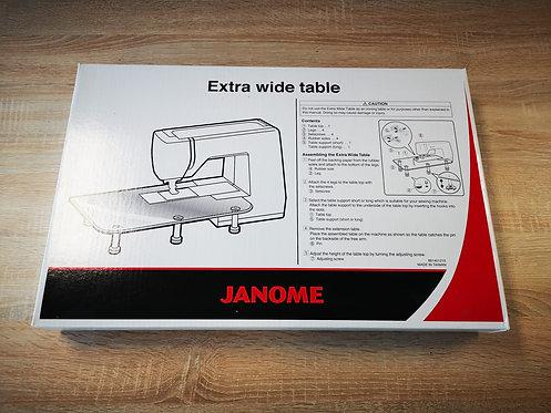 Janome Aanschuiftafel