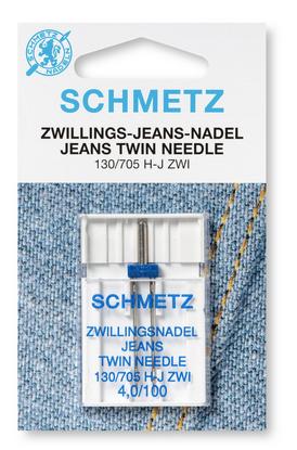 Double aiguille pour Jeans