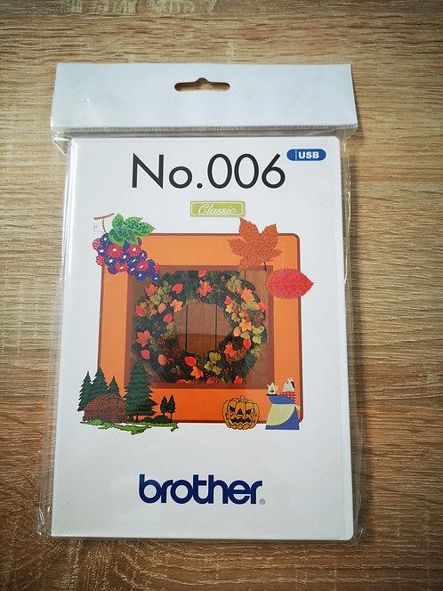 Brother borduur ontwerpen Herfst