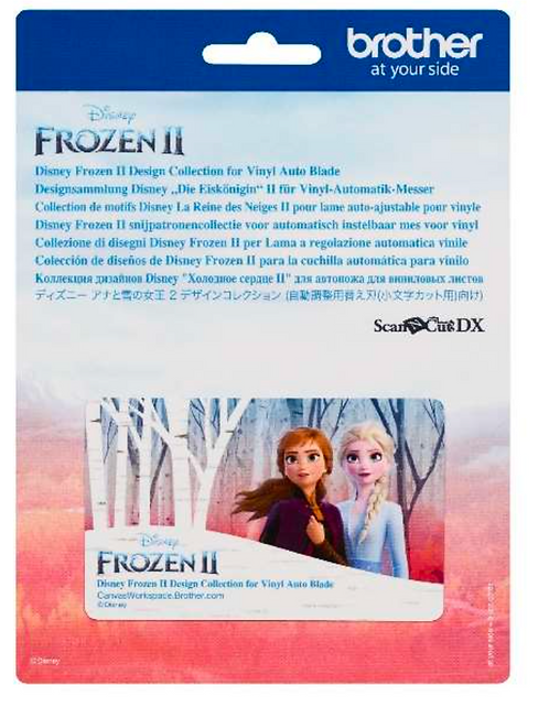 Brother ScanNCut Disney Collection FROZEN II