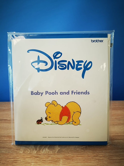 Brother borduurkaart Disney'Baby Pooh and Friends'