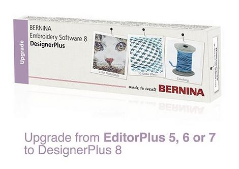 Bernina upgrade van V5/6/7 naar V8 borduursoftware