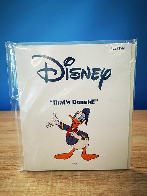 Brother borduurkaart Disney 'That's Donald!'