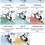 Thumbnail: Overlock voetenset 8 Stuks MO-1000 & 2000