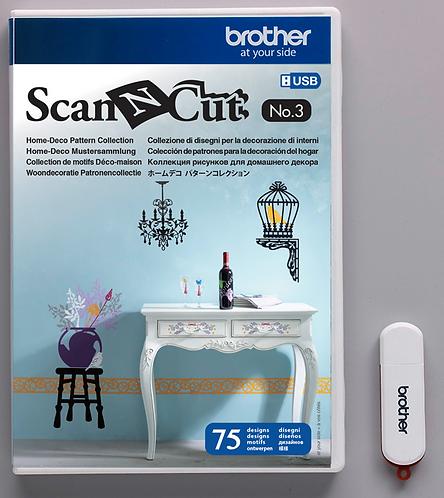 ScanNCut USB n° 3 Woondecoratie collectie
